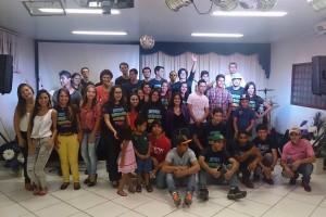 Jovens da Missionária de Caarapó